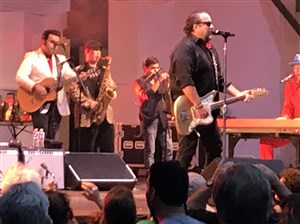 The Mavericks at Hartwood Acres Sunday before the rain-out.