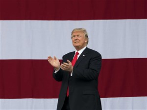 President Donald Trump said in a series of tweets on Wednesday that he is banning transgender people from serving in the military, saying that the medical expense is too big a burden for the budget to bear.