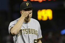 Jameson Taillon put forth the worst start of his major league career during the Pirates' 11-3 loss to the San Francisco Giants.