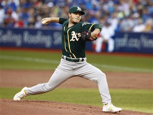 Athletics pitcher Sonny Gray is a popular name in trade rumors.