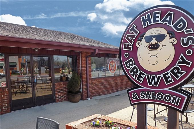 The Fat Head's brewpub in North Olmsted, Ohio.