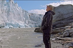 "Al Gore in Greenland as seen in ""An Inconvenient Sequel: Truth To Power."""