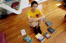 Allderdice High School student Andrew Gu, 16, received the highest score in the country this year on the US Math Olympiad test (out of over 300,000 participants) and just got back from representing the U.S. on a six-member math team in Brazil, which came in fourth.