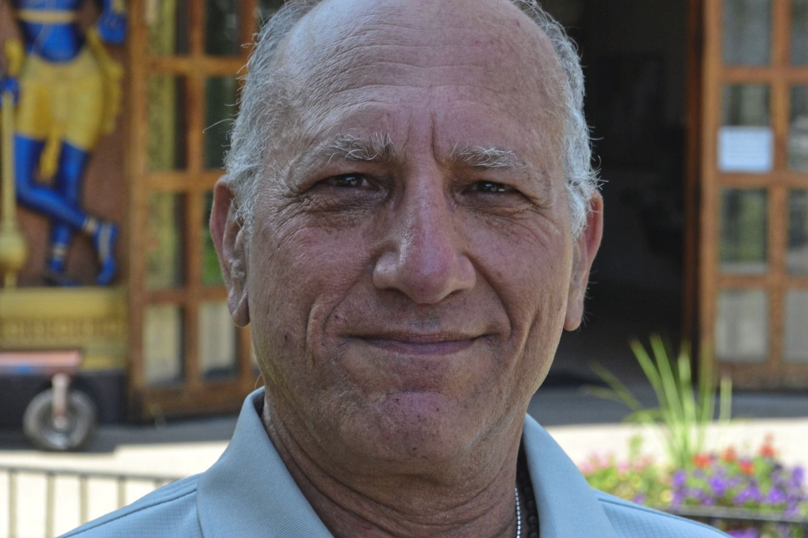 new vrindaban 1 New Vrindaban board member Gabriel Fried.New Vrindaban in West Virginia is now allowing the exploitation of the underground mineral resources.