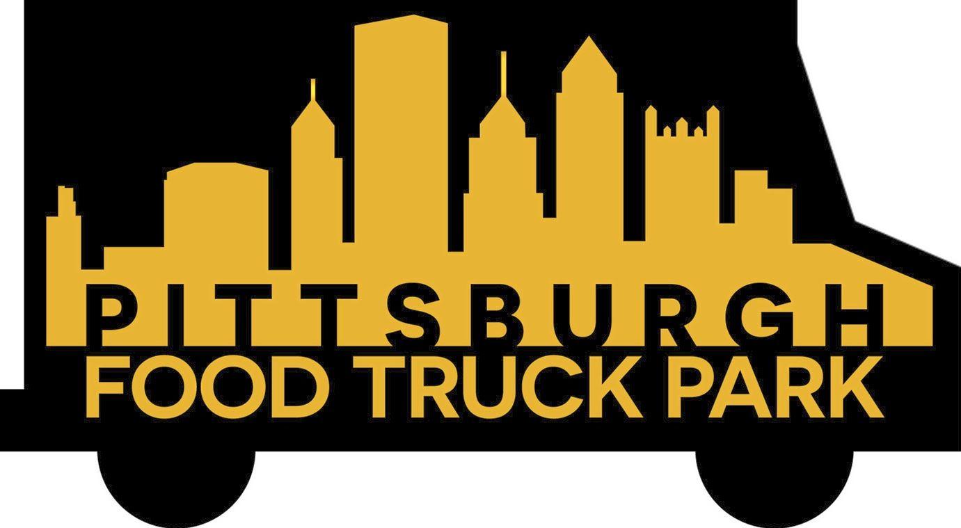 food truck park logo Logo for Pittsburgh food truck park