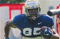 After an inauspicious start at Pitt, wide receiver Jester Weah has his sights set on another big year and a future in the NFL.