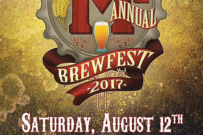 This is the poster for the 11th Millvale Brewfest.