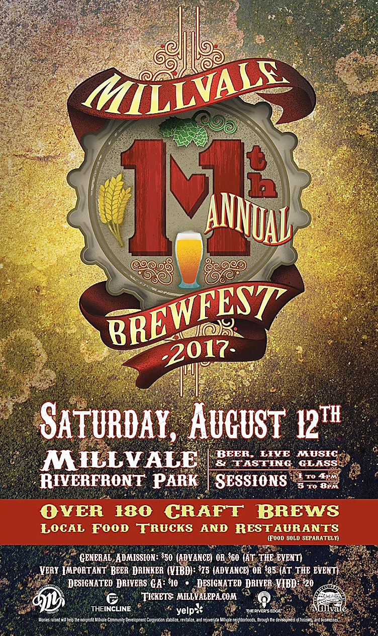 brewfest This is the poster for the 11th Millvale Brewfest.