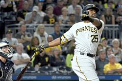 Gregory Polanco injured his hamstring again this past weekend in Toronto.