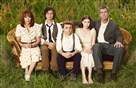 "ABC's ""The Middle"" stars Patricia Heaton as Frankie, Charlie McDermott as Axl, Atticus Shaffer as Brick, Eden Sher as Sue and Neil Flynn as Mike."