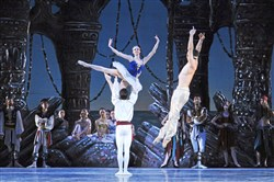 "Pittsburgh Ballet Theatre returns to Chautauqua Institution for a performance Sat. Aug. 12 at the new Amphitheater. Featured on the program will be highlights from ""Le Corsaire"" and ""Coppelia"" and Jiri Kylian's ""Petite Mort."""