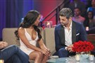 "There were tears as ""The Bachelorette"" Rachel Lindsay and runner-up Peter Kraus awkwardly re-lived their break-up in front of a live television audience."