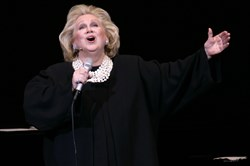Barbara Cook, in concert at Carnegie Hall in New York in 2006.