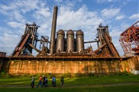 The Carrie Furnaces in Rankin.
