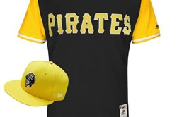 The Pirates will wear this jersey during the Little League Classic on Aug. 20 against St. Louis and again during Players Weekend Aug. 25-27.