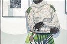 "This portrait by Kerry James Marshall, called ""Untitled (Gallery), 2016,"" is part of the ""20/20: The Studio Museum in Harlem and Carnegie Museum of Art,"" which has been praised by Teen Vogue."
