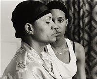 "LaToya Ruby Frazier, ""Momme,"" 2008. Gelatin silver print. Carnegie Museum of Art, Second Century Acquisition Fund."