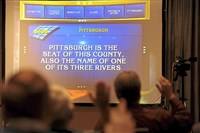 "Local does it: the ""Jeopardy!"" audition Saturday at the Westin Convention Center on Saturday."