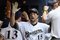 Neil Walker, a former Pirate, was traded from the New York Mets to the Milwaukee Brewers last season.