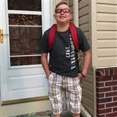Thirteen-year-old Peyton West died Thursday, his first day back to school after a heart transplant five months ago.