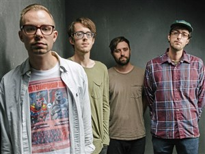 Cloud Nothings: Chris Brown, Dylan Baldi, TJ Duke and Jayson Gerycz.