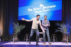 Drew and Jonathan Scott talk about their lives as part of the Scott Brothers' House Party national tour.