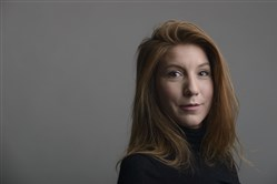 This is a 2015 handout photo portrait of the Swedish journalist Kim Wall taken in Trelleborg, Sweden.