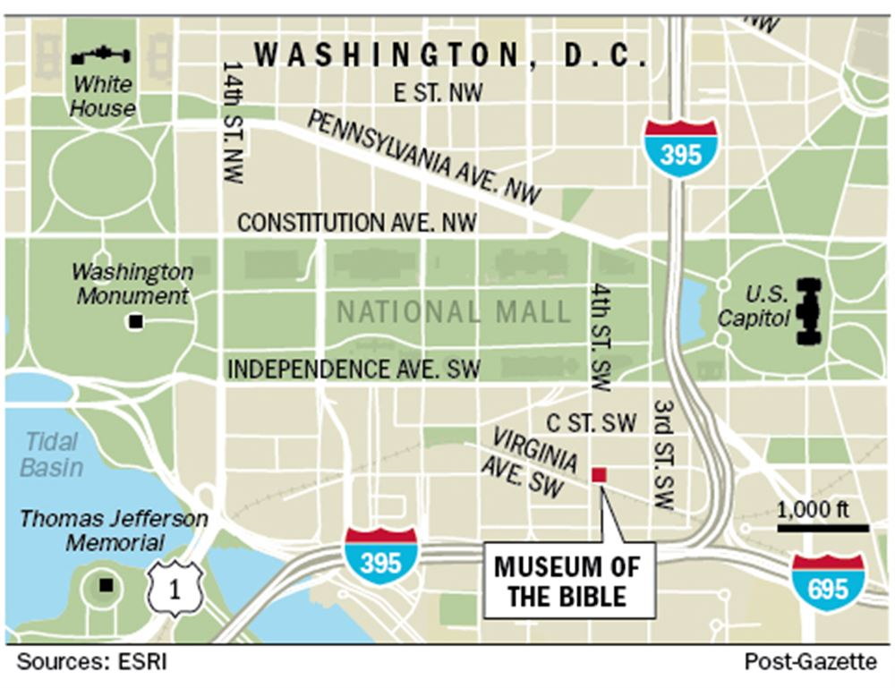 Monument to myth or history? Museum of the Bible to open in ... on