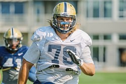 Pitt's Alex Bookser practiced throughout training camp and the preseason, but made his season debut Saturday at Penn State.