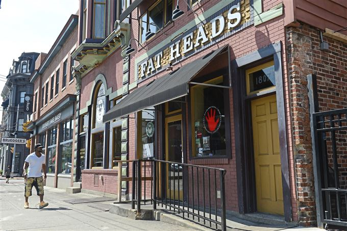 Fat Head's Saloon on the South Side, Pittsburgh.