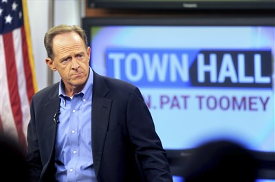 Toomey hears from constituents at his first town hall in months