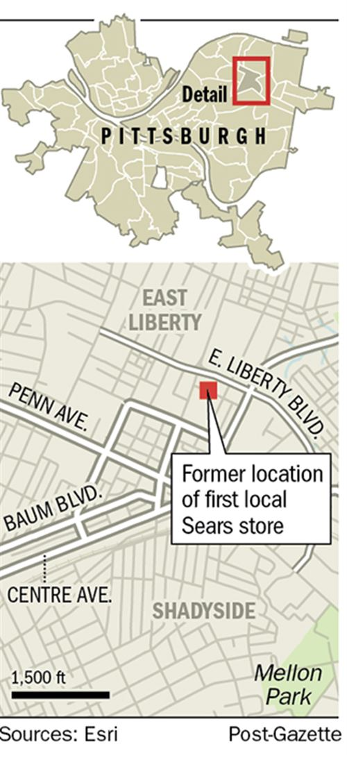 The story of Sears / Long-gone East Liberty store reflects iconic ...