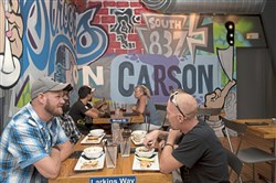 Streets on Carson, just one of many restaurants flourishing on Pittsburgh's South Side.