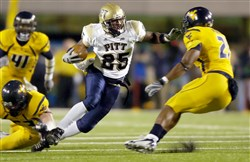 LeSean McCoy gained 148 yards in Pitt's upset win at West Virginia in 2007.