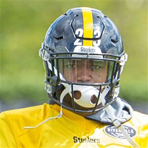 Steelers safety Mike Mitchell practices in September on the South Side.