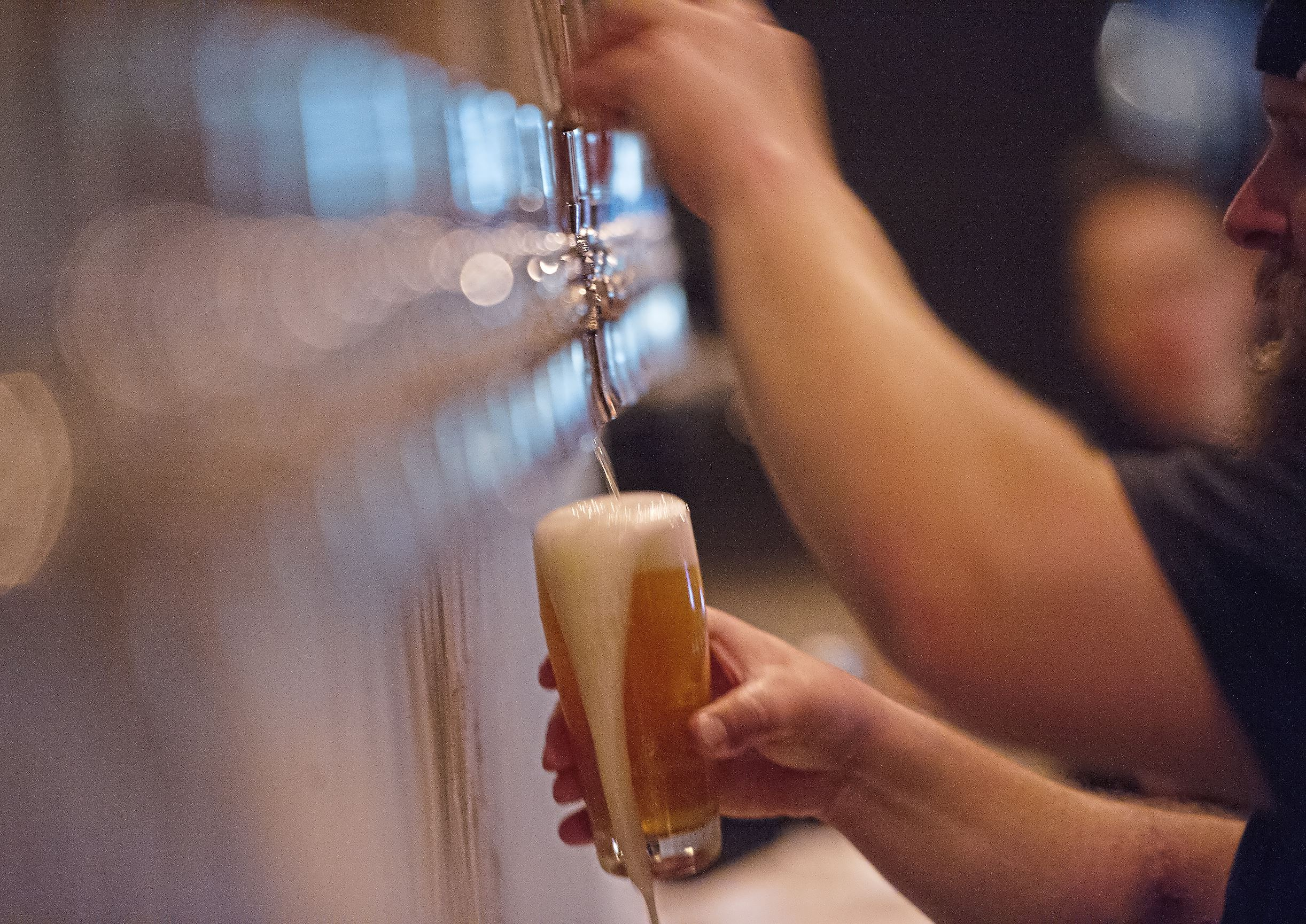 20170906rldHitchhiker01 Hitchhiker Brewing Co. celebrates the opening of its second location with a soft launch Wednesday in Sharpsburg.