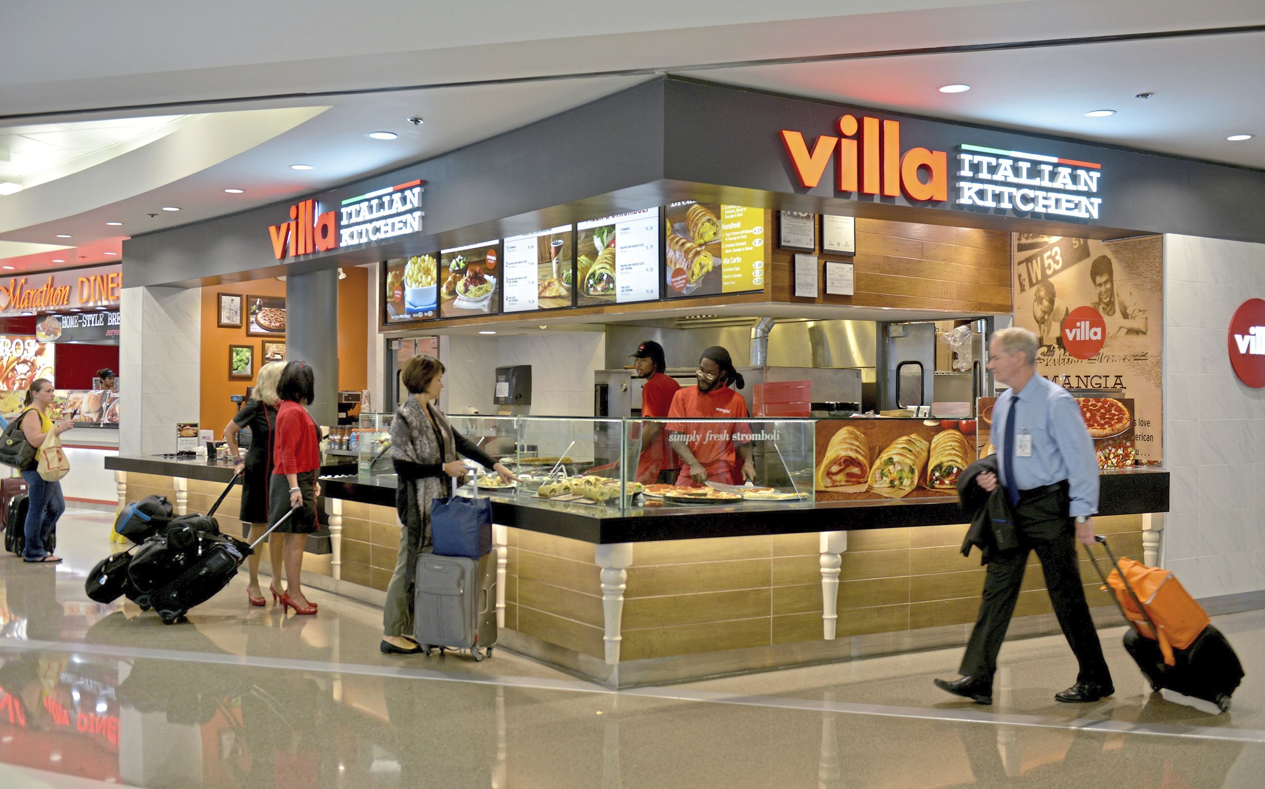 pittsburgh international airport eateries showing improvement on