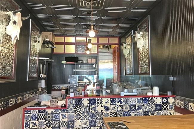 Bull River Taco Co. is a narrow storefront restaurant in Squirrel Hill.