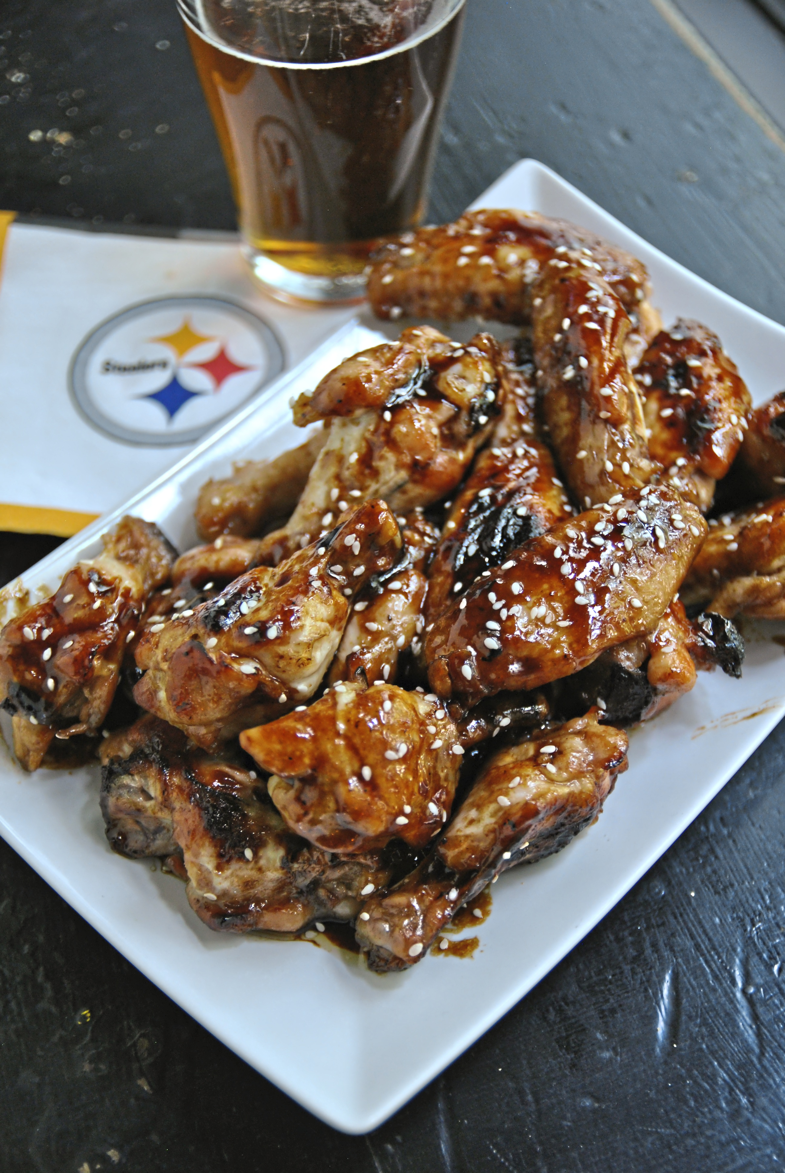 Honey Sriracha wings 1  Honey Sriracha Wings with Sesame