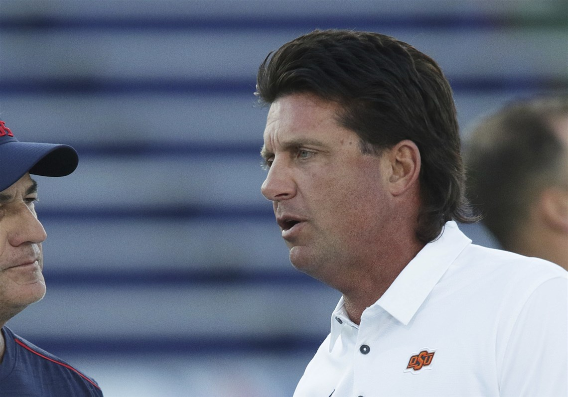 Mike gundys visit is a chance to recall great mullet moments in oklahoma state coach mike gundy and his famous mullet will visit heinz field for the cowboys urmus Choice Image