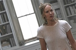 "Jennifer Lawrence in the film, ""Mother!"""