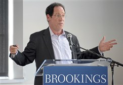 "Bruce Katz, the Centennial Scholar at the Brookings Institution, discusses the report of ""Capturing the Next Economy: Pittsburgh's rise as a global innovation city,"" Sept. 13."