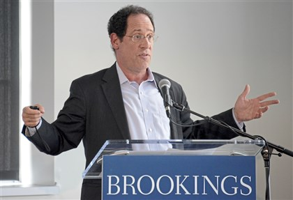 "Bruce Katz, the Centennial Scholar at the Brookings Institution, discusses the report of ""Capturing the Next Economy: Pittsburgh's rise as a global innovation city"" Wednesday, September 13, 2017, at Energy Innovation Center."
