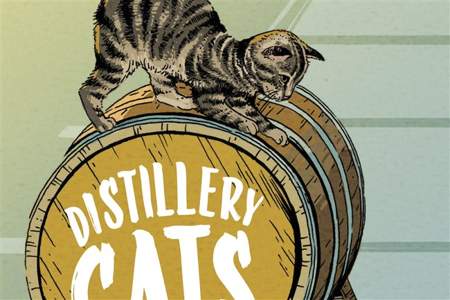 """The book """"Distillery Cats"""" by Brad Thomas Parsons."""
