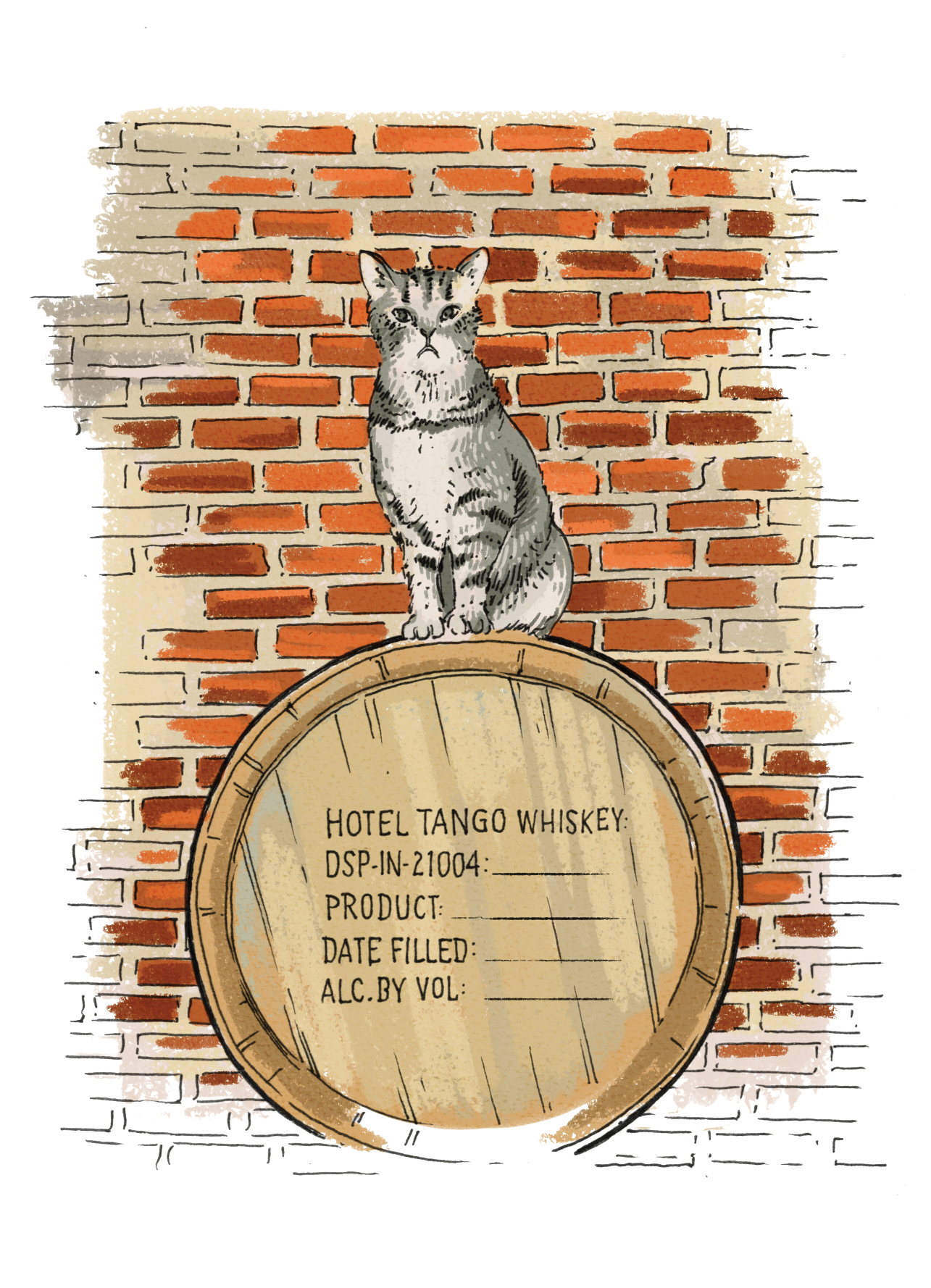 "PetTales0916 Fletcher Pickles is ""mouser in chief"" at Hotel Tango Artisan Distillery in Indianapolis. He's also the emotional support animal of distillery owner Travis Barnes, a combat-disabled veteran."