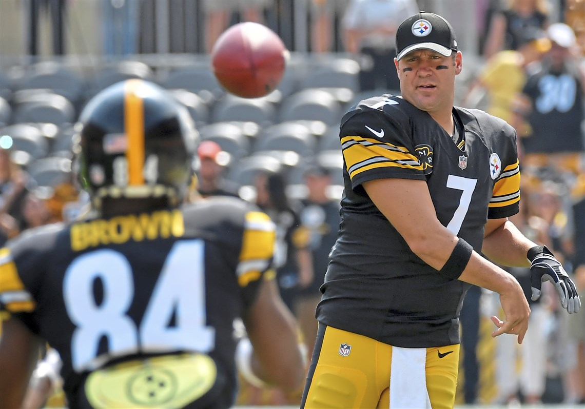 Ben Roethlisberger on Antonio Brown s tantrum It messes with all
