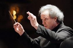 PSO music director Manfred Honeck might get fired if he loses too many games, but he seems to have a thick skin.