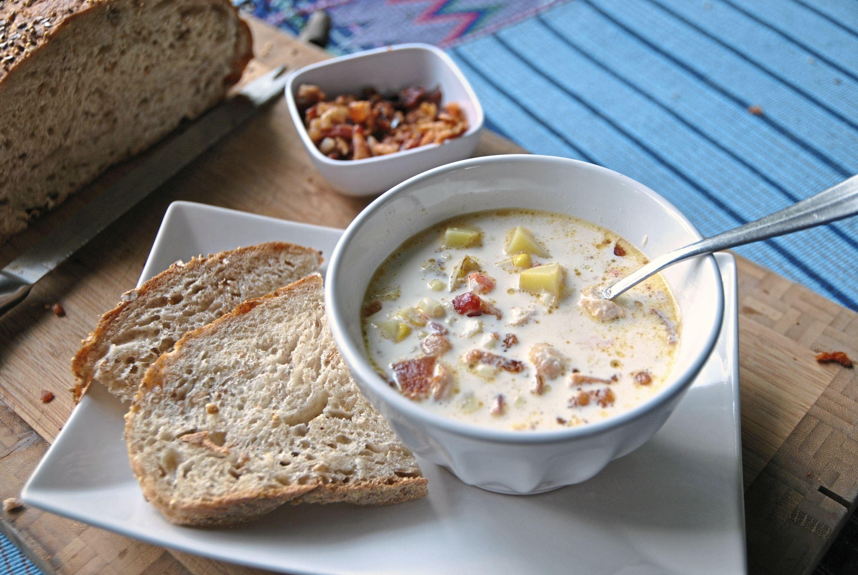 Corn-chowder-1 Creamy Corn Chowder