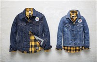 Options from the Levi's NFL collection for Steelers fans.