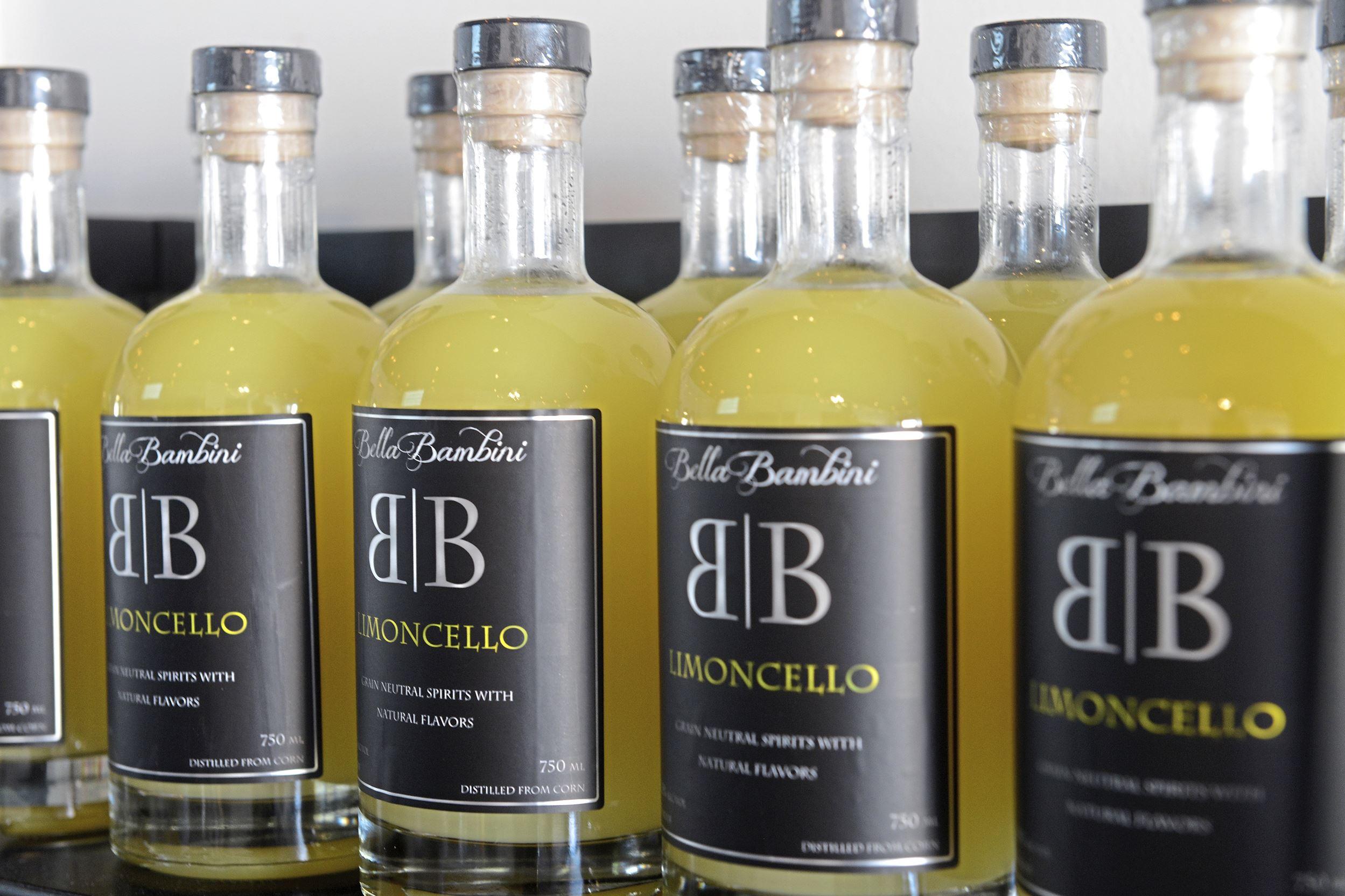 20170921rldBellaBambini05-4 Limoncello at Bella Bambini Craft Distillery in Coraopolis.